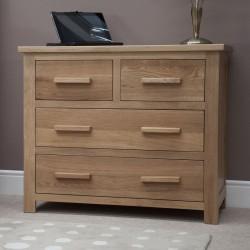 Opus 2 + 2 Oak Drawer chest