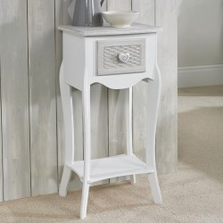 Bethany Hand Painted 1 Drawer Bedside Cabine